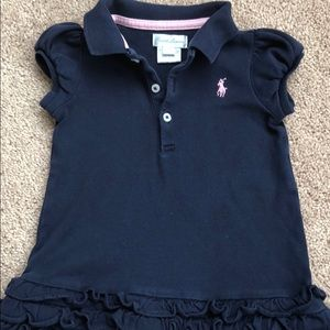 Ralph Lauren baby girl polo dress
